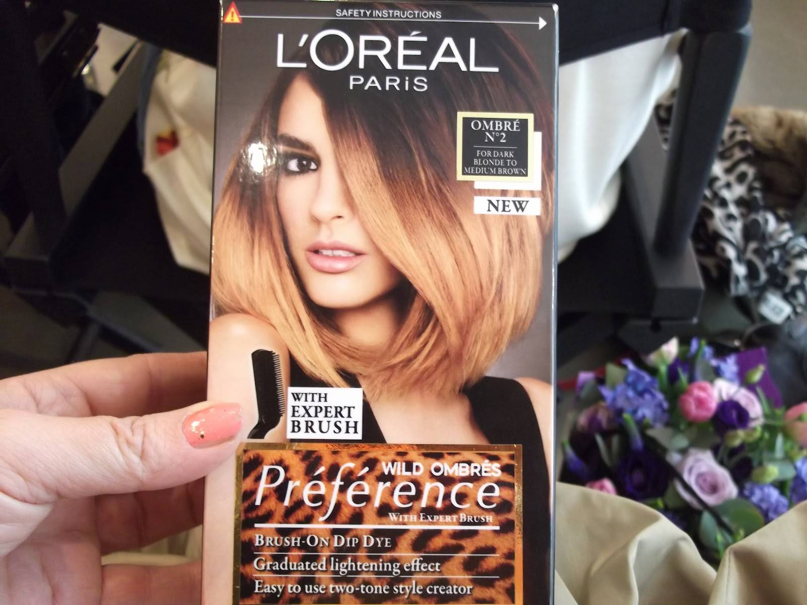Краска l'oreal preference wild ombres