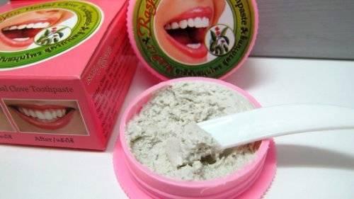 Как пользоваться тайской отбеливающей зубной пастой? топ популярных производителей