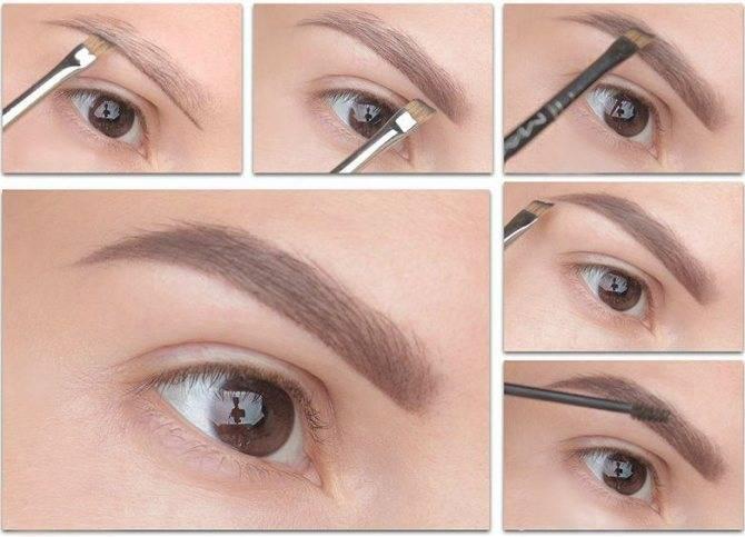 Чем лучше красить брови: карандашом или тенями?