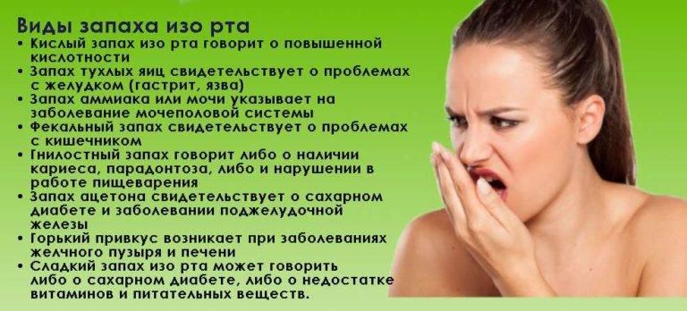 Гнилостный запах изо рта: что это такое, почему возникает, как устраняется