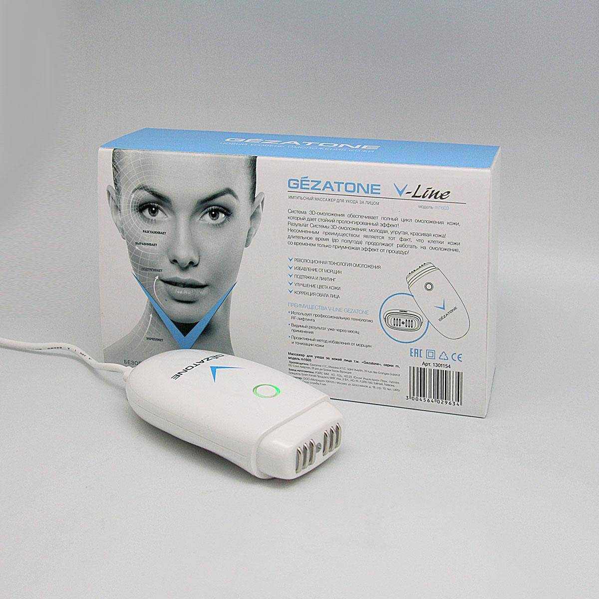 Аппарат rf-лифтинг микротоки: m1605 gezatone и 29 аналогичных устройств для выполнения омолаживающей процедуры для лица