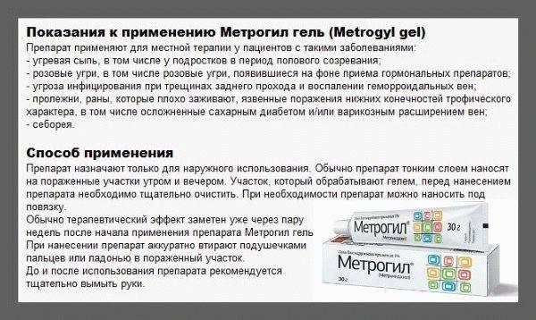 Отзывы покупателей и врачей об эффективности мази метрогил и правила ее применения против прыщей