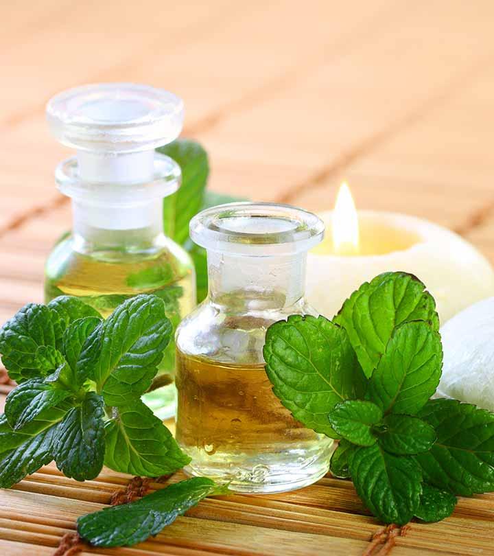 Применение эфирного масла мяты для лица. маски для кожи лица с маслом мяты