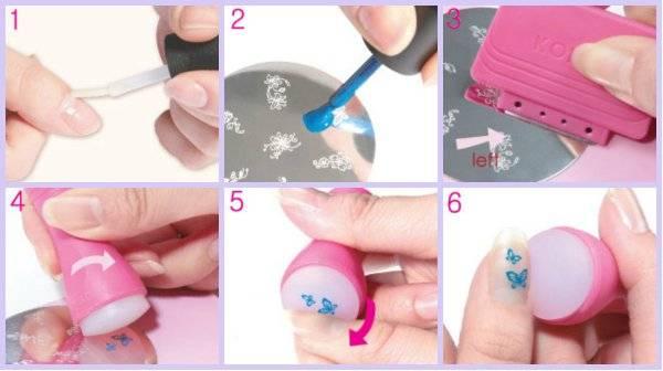 Стемпинг на ногтях: все секреты технологии в домашних условиях!