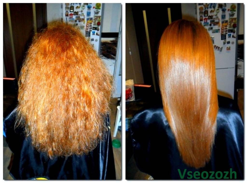 Как провести кератиновое выпрямление волос в домашних условиях
