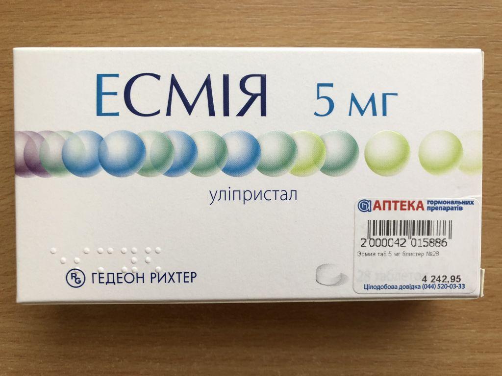 Как принимать препарат эсмия: инструкция по применению