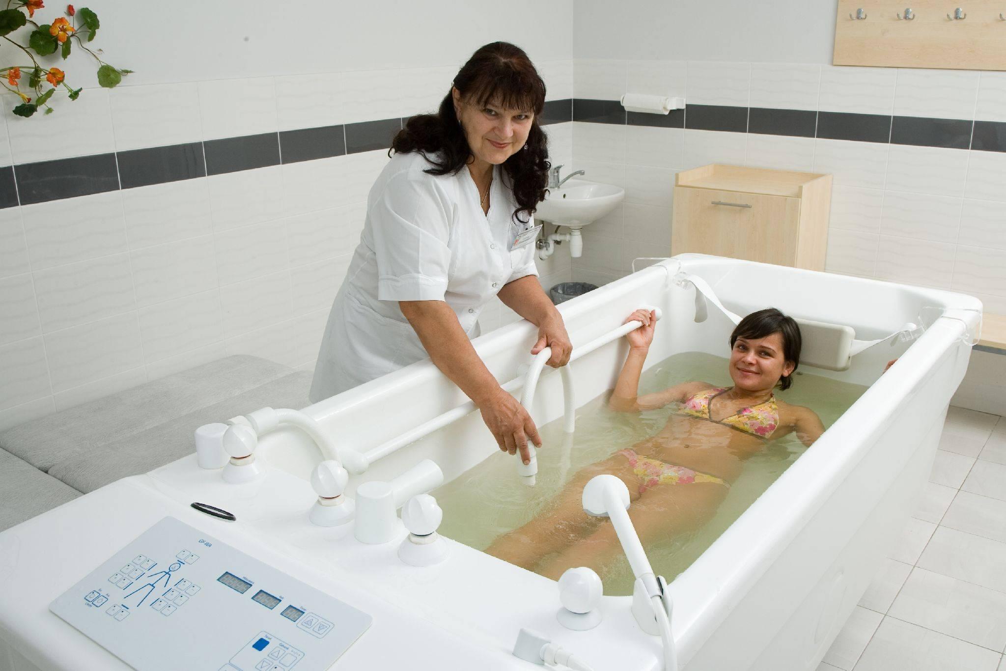 Физиотерапия в лечении болезней нервной системы: водолечение. часть 2