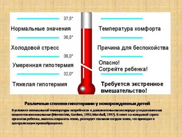 Пониженная температура тела