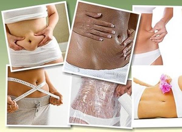 Маски для похудения живота в домашних условиях