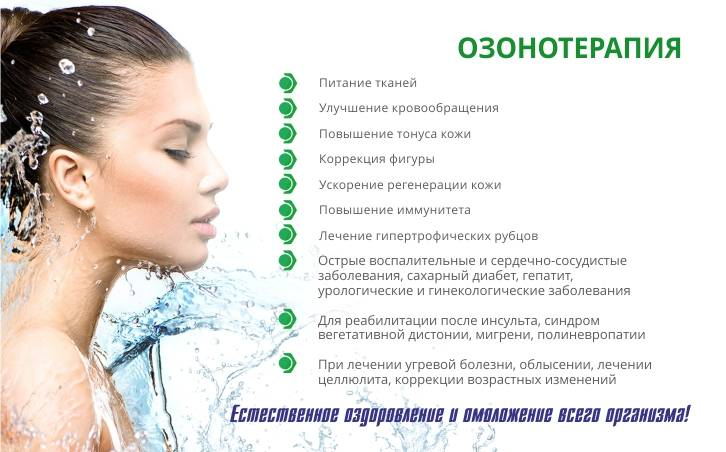 Озонотерапия для волос: виды и особенности
