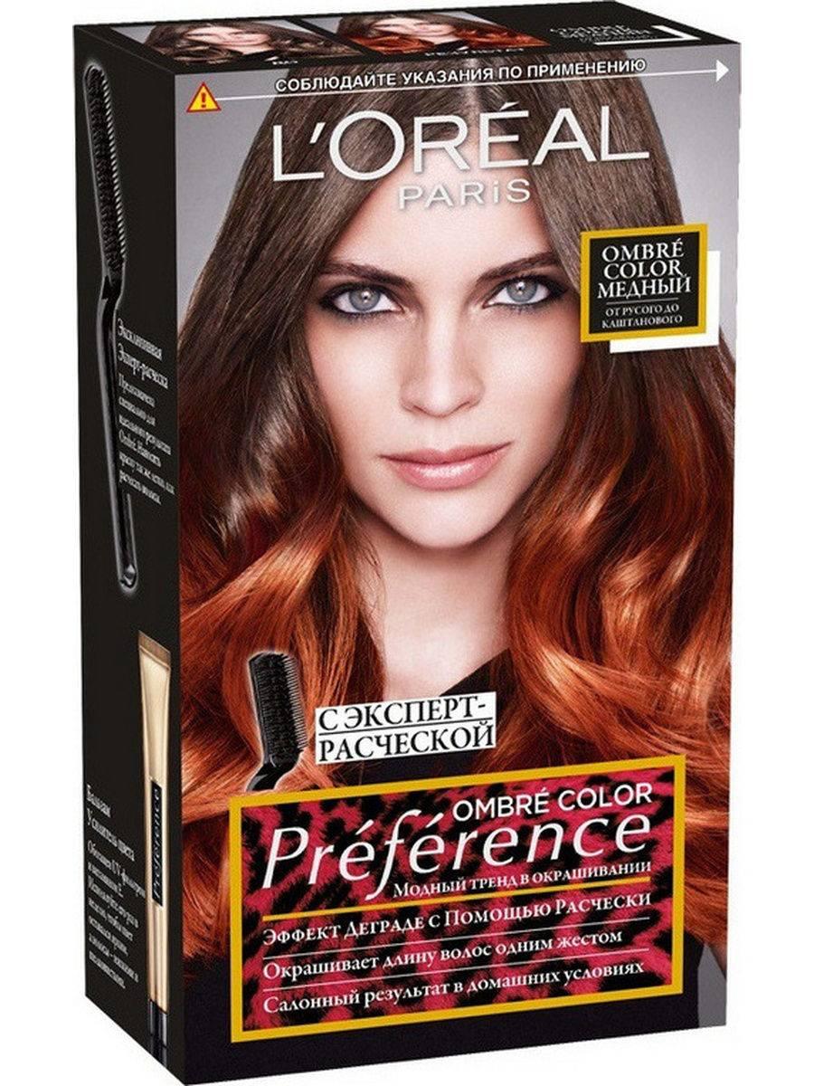 Восхитительная краска для волос лореаль преферанс: фото оттенков и отзывы покупателей