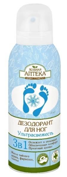 Мази и крема от потливости и запаха ног
