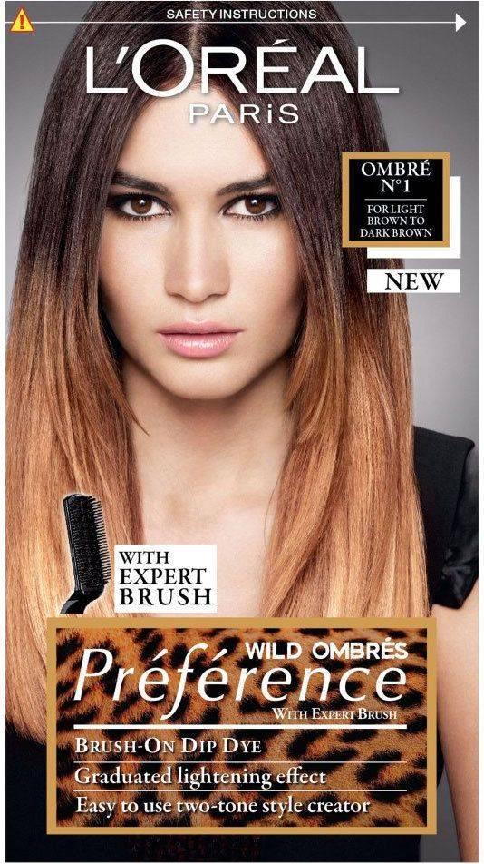 Loreal ombre — лучшая краска для окрашивания волос