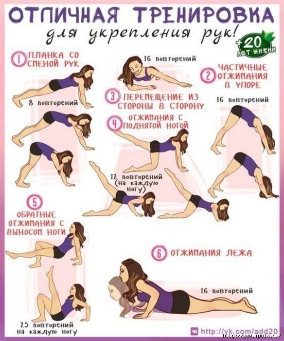 грамота упражнения для похудения спины и рук в картинках для выжигания военную