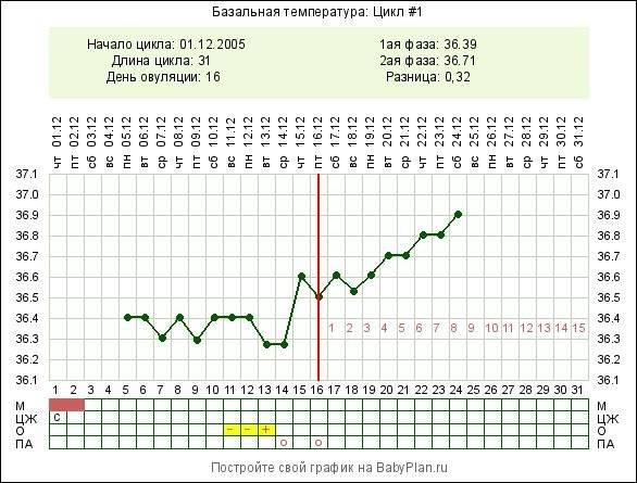 Как правильно мерить базальную температуру для определения овуляции или беременности?