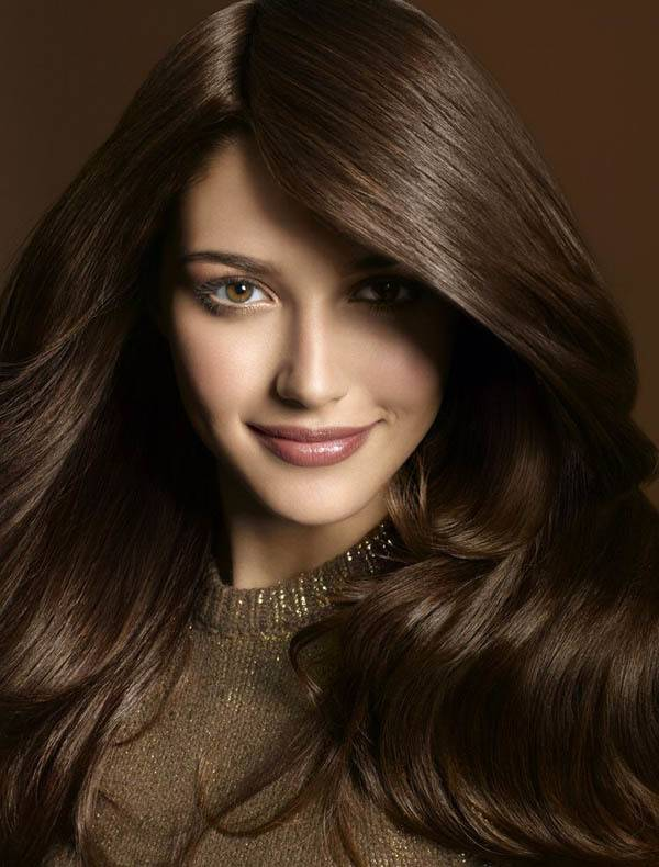 Каштановый цвет волос и его оттенки (40 фото)