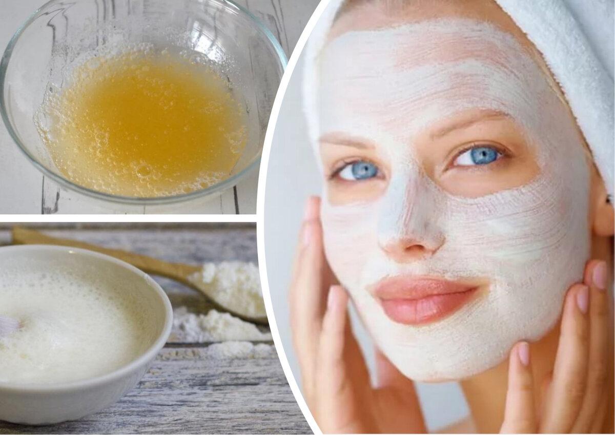 Маска для лица с крахмалом: вместо ботокса? лучшие маски!