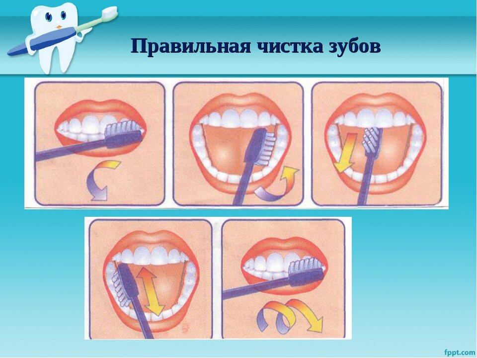 Как правильно чистить зубы, советы по чистке зубов