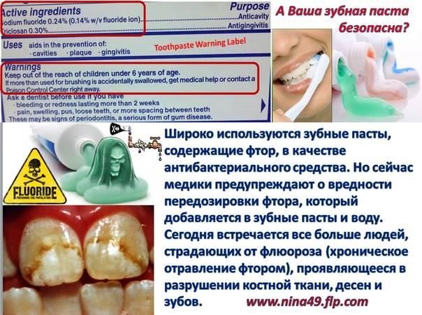 Польза и вред зубной пасты