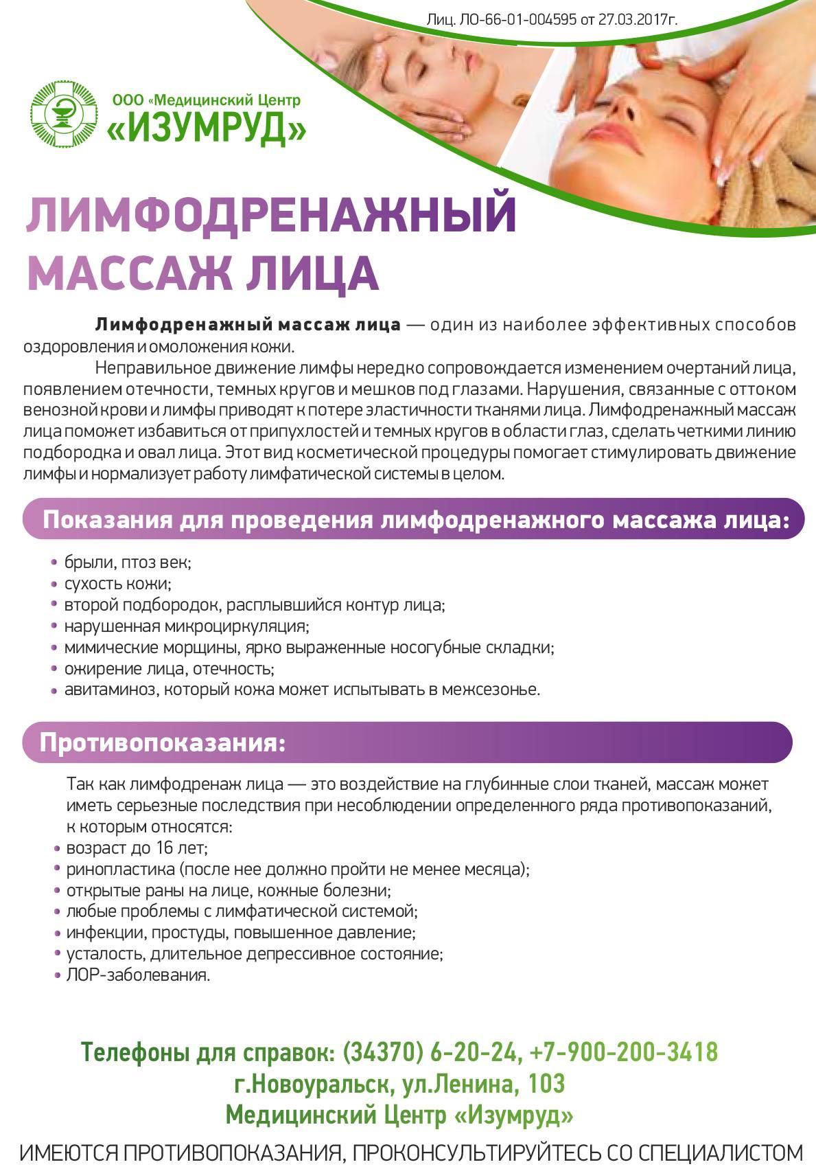Лимфодренажный массаж тела в домашних условиях техника