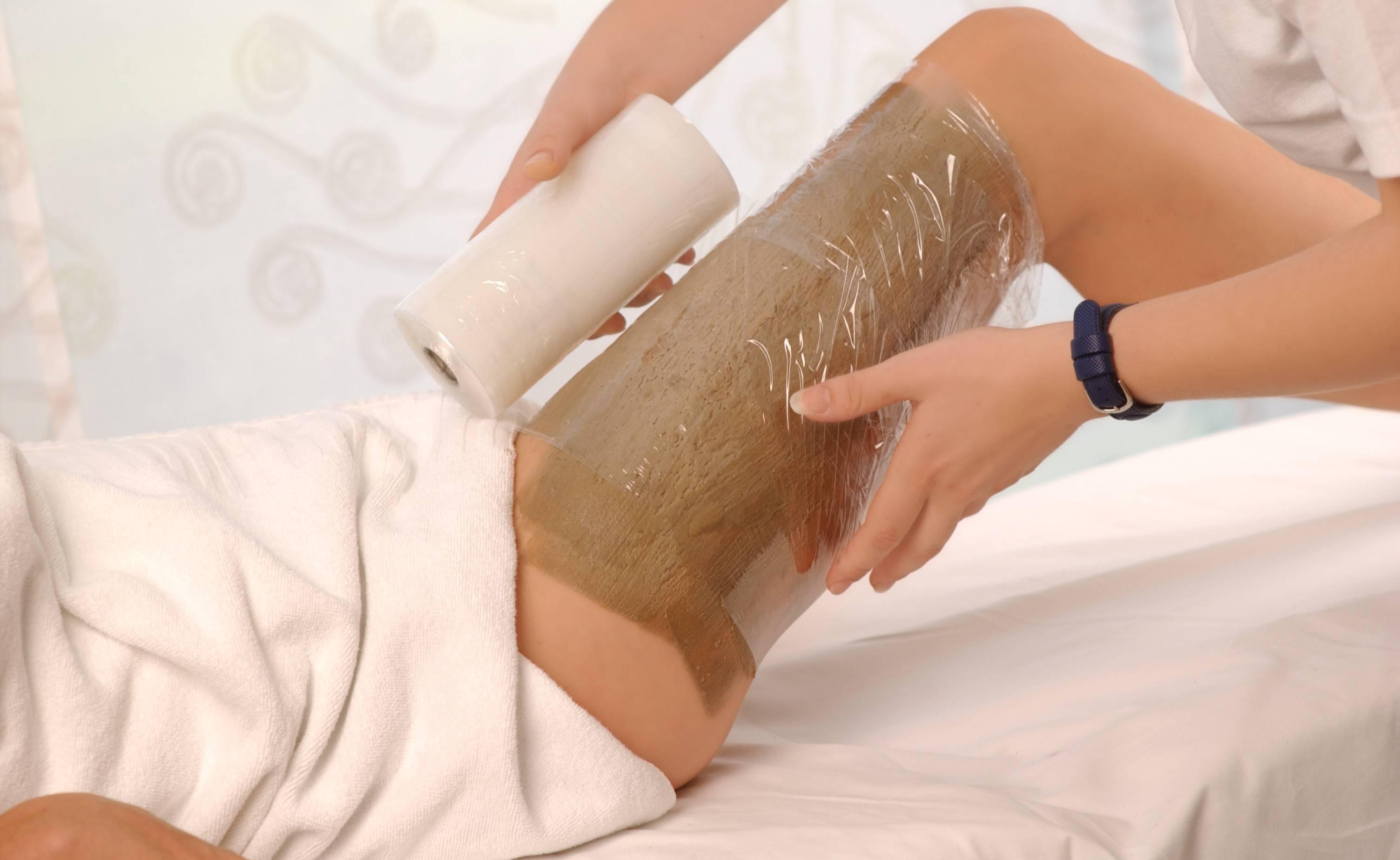 Обертывания белой глиной (каолином)