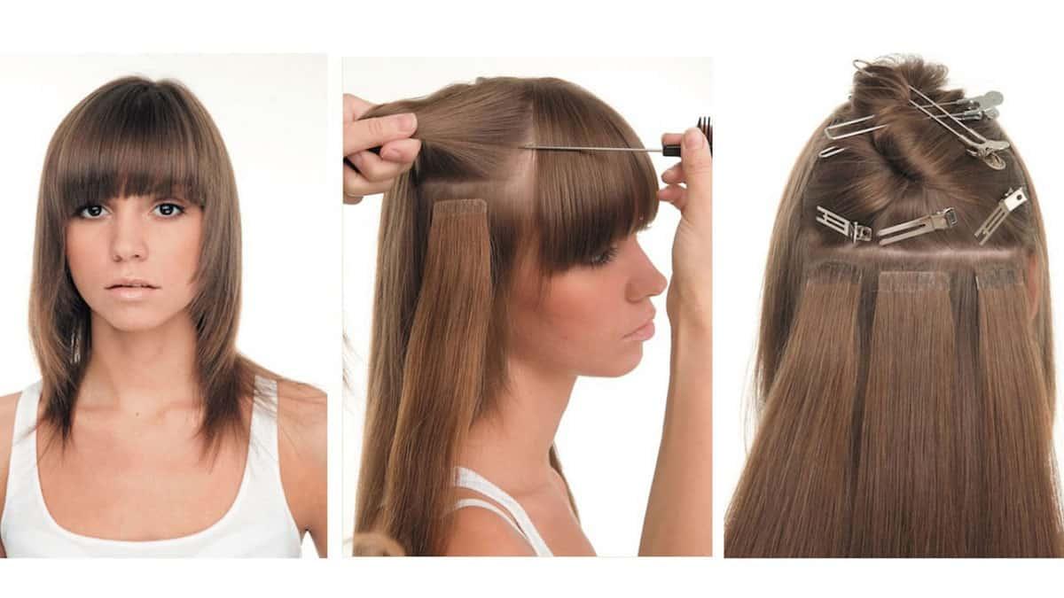 Капсульное наращивание волос (виды. инструкция. плюсы и минусы)