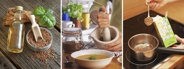 Отвар и настой льняного семени: показания к применению и способы приготовления