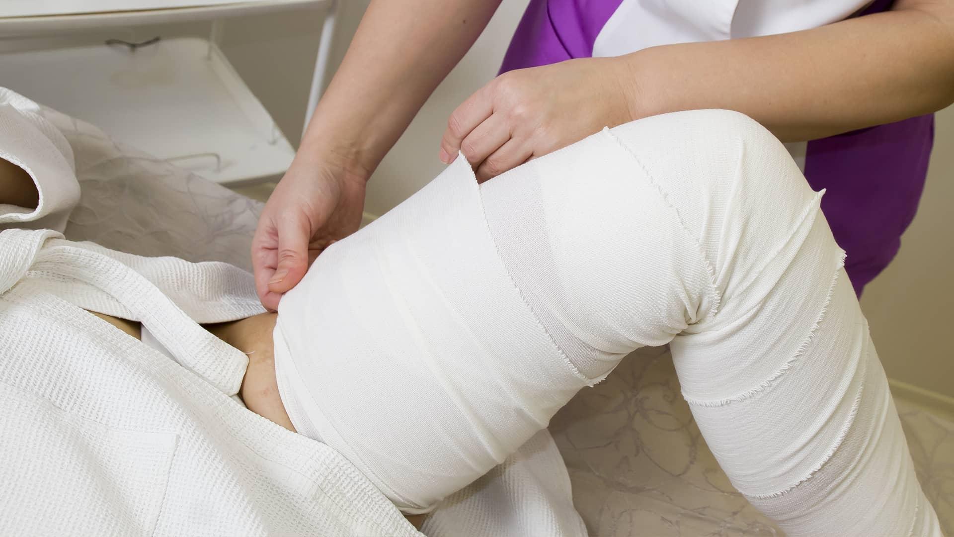Бандажное обертывание — как провести процедуру в домашних условиях