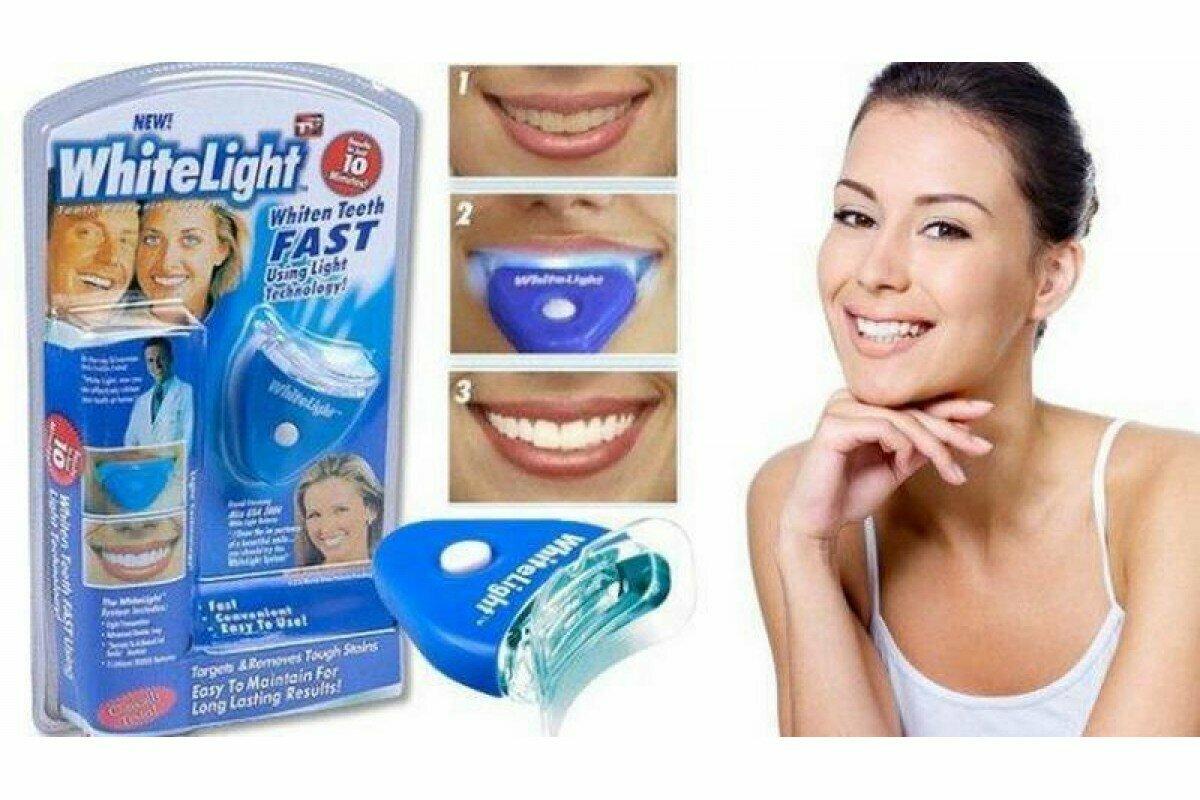 Система для домашнего отбеливания зубов white light — инструкция по применению
