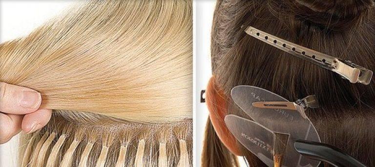 One touch — ленточное наращивание волос