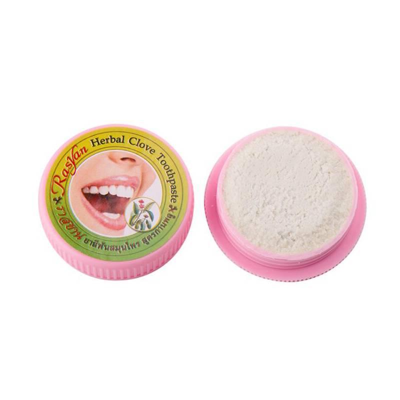 Рейтинг лучших отбеливающих зубных паст из тайланда