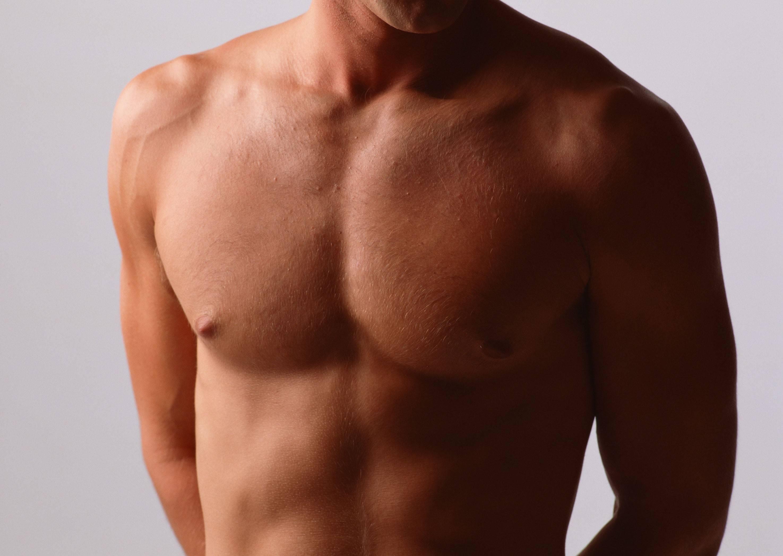 Уменьшение груди и сосков у мужчин — после удаления гинекомастии