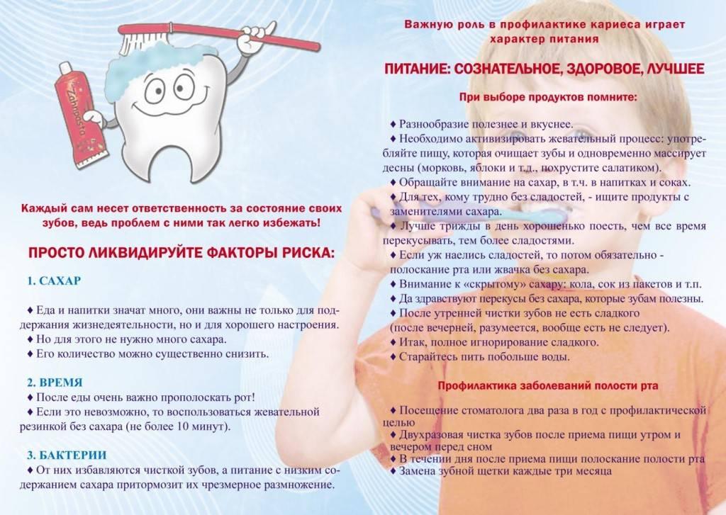 10 компонентов эндогенной профилактики кариеса в домашних условиях