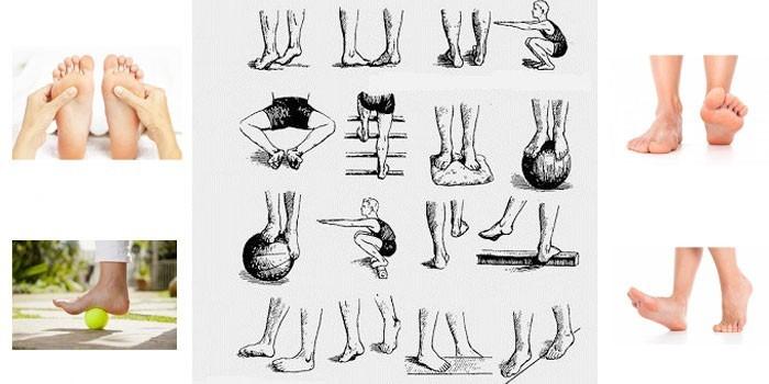 содержания упражнение для стопы ног в картинках вещей капсуле