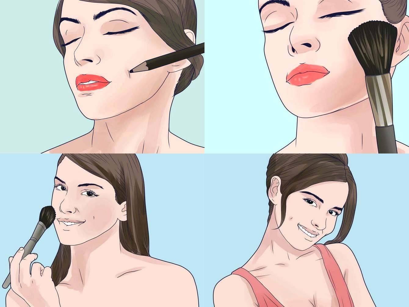 Как убрать щеки на лице в домашних условиях с помощью диеты, масок и упражнений