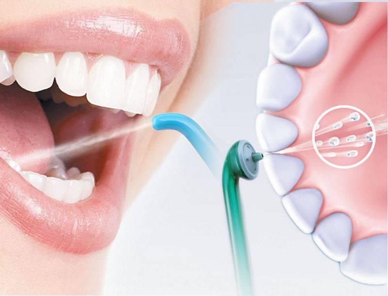 Профессиональная чистка зубов air flow или отбеливание