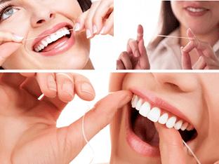 Зубная нить (флосс) – абсолютная необходимость при чистке зубов