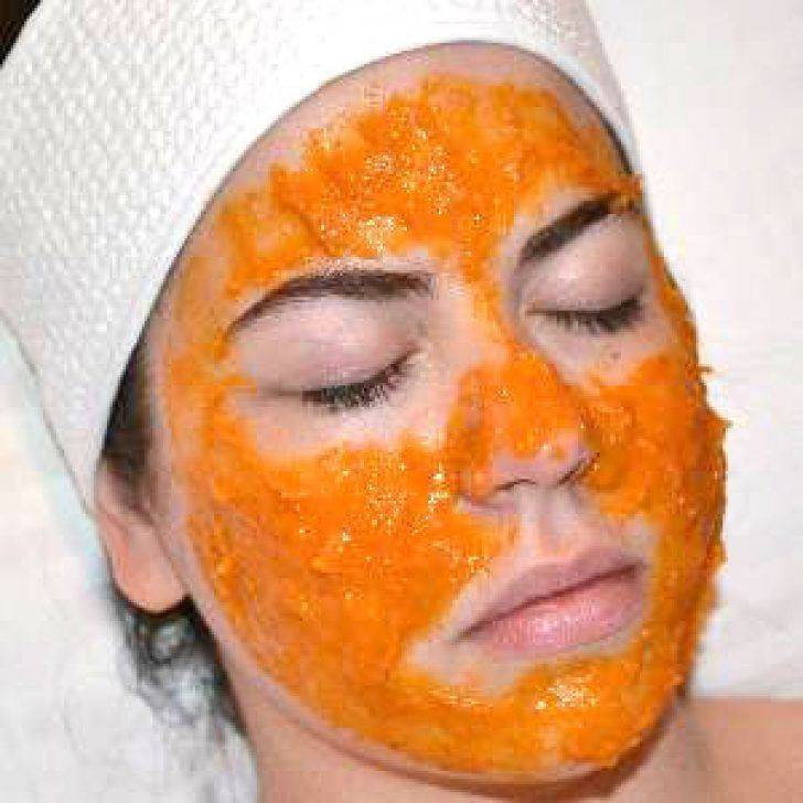 Тыквенная маска для лица: лечебный икосметический эффект