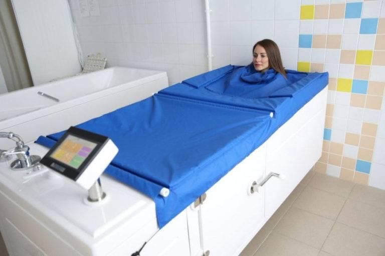 Cухая углекислая ванна – показания и противопоказания к процедуре