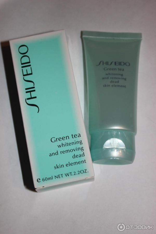 Обновление кожи с зеленым чаем – пилингом шисейдо