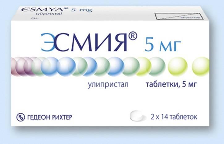 Применение препарата эсмия при миоме матки