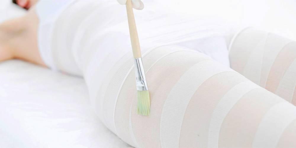 Правила бандажного обертывания при похудении