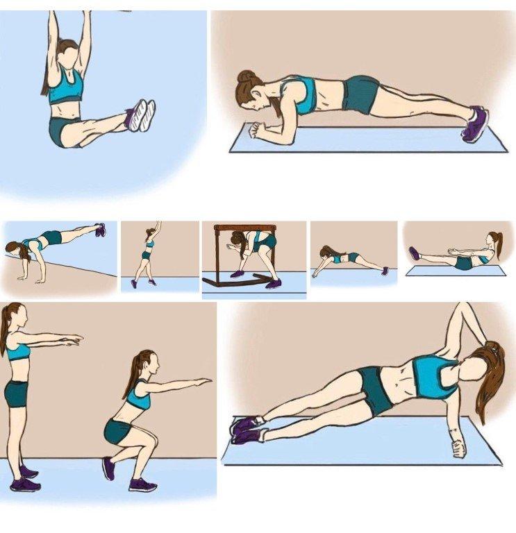 того, упражнение в картинках убрать жир и бока в домашних условиях псы, характеристики фото