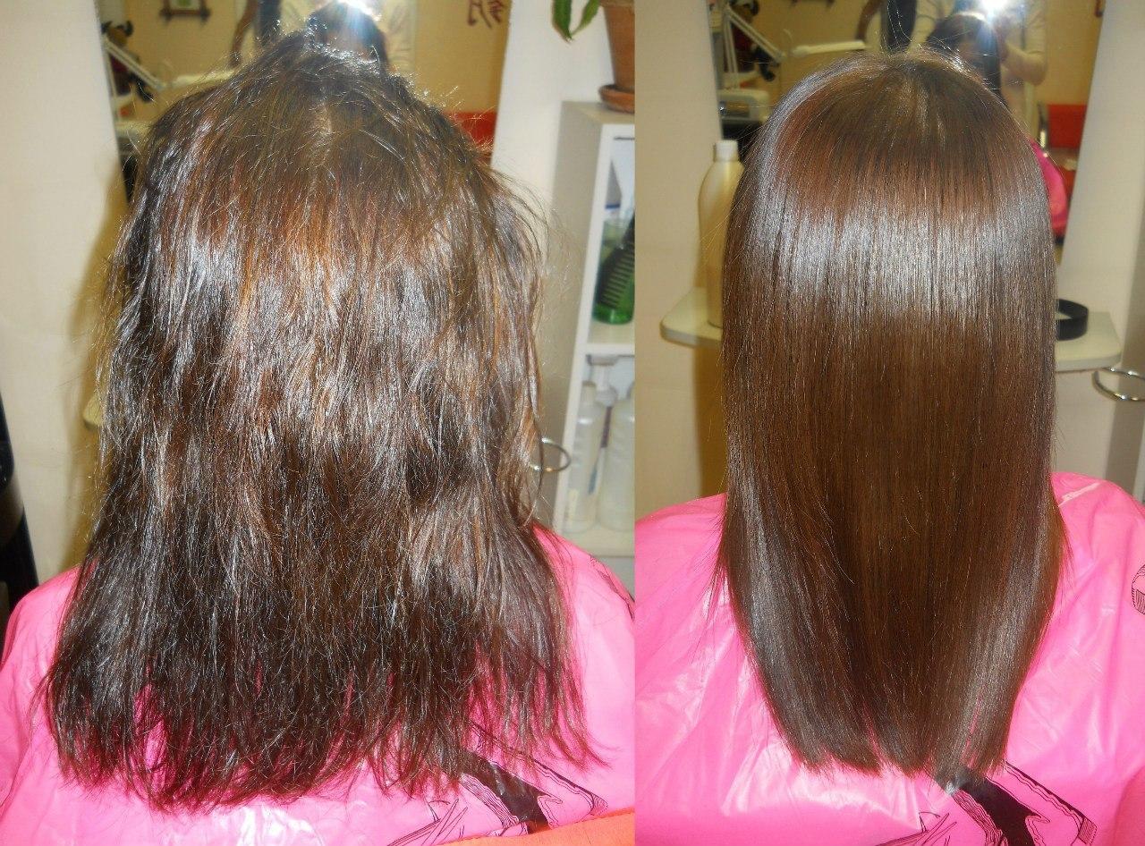 Кератиновое выпрямление волос: все о процедуре, ее плюсах и минусах