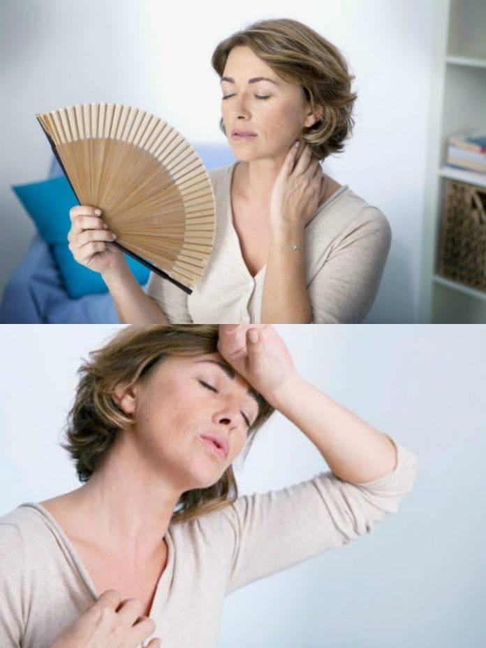 Может ли при климаксе болеть грудь и живот