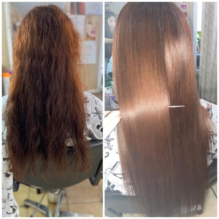 Что лучше кератиновое выпрямление или ботокс для волос?