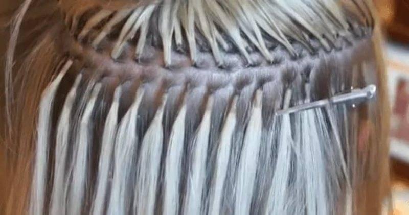 Холодное наращивание или горячее: какое лучше для тонких волос