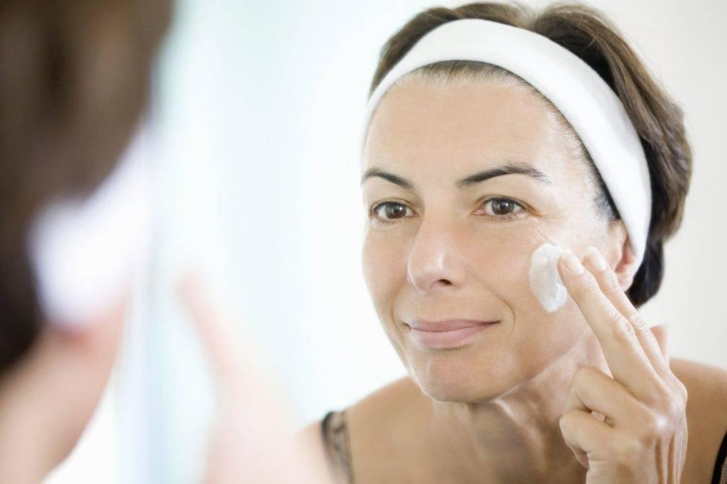 Как ухаживать за кожей лица после 40 — 45 лет