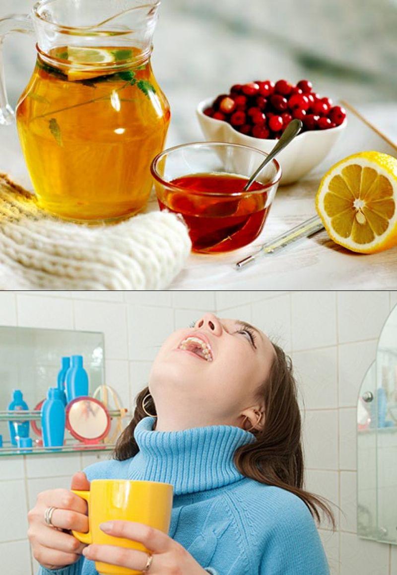 Как быстро вылечить гнойную ангину в домашних условиях