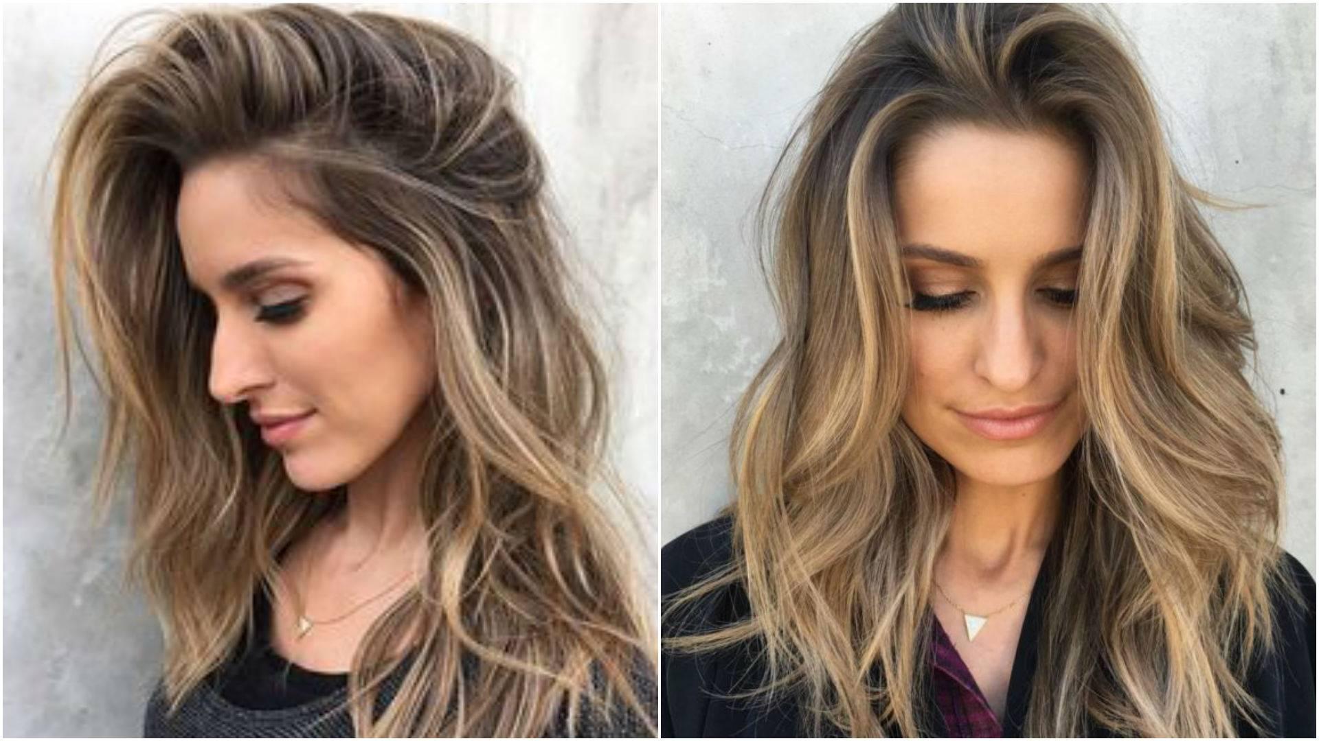 Окрашивание шатуш на темные волосы ― особенности итальянского мелирования